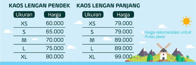Pricelist Kaos Anak Muslim Bilhikma