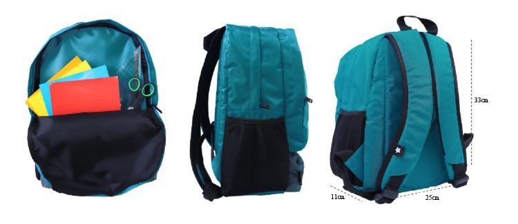 Dimensi Backpack Afrakids