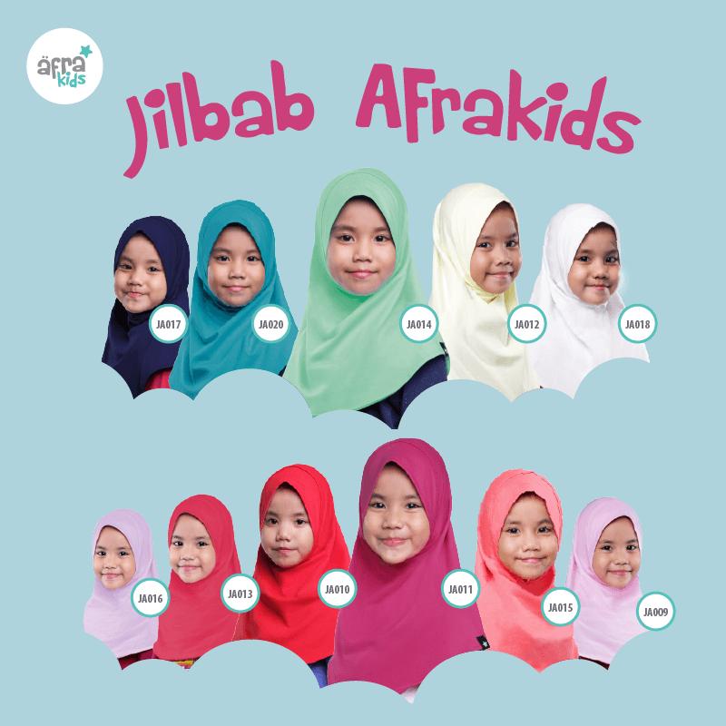 Katalog Lengkap Jibab Afrakids