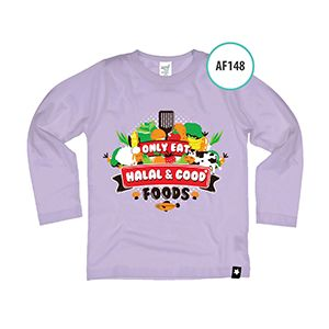 Afrakids AFRA - AF148 Only Eat Halal Food