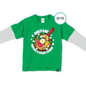 Afrakids AFRA - AF170 Only Eat Halal Food