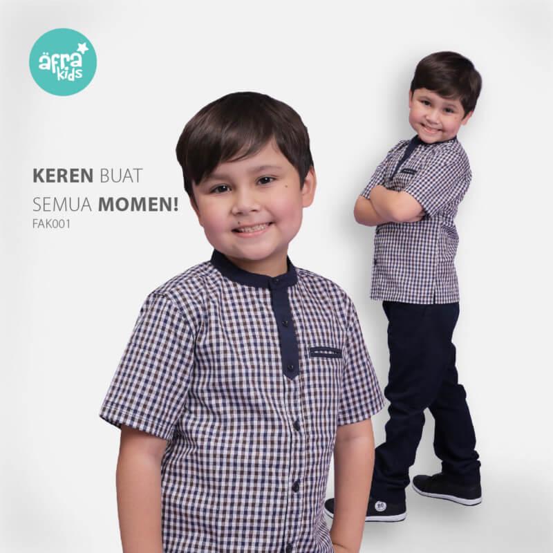 Baju Koko Anak Afrakids AFRA - FAK001