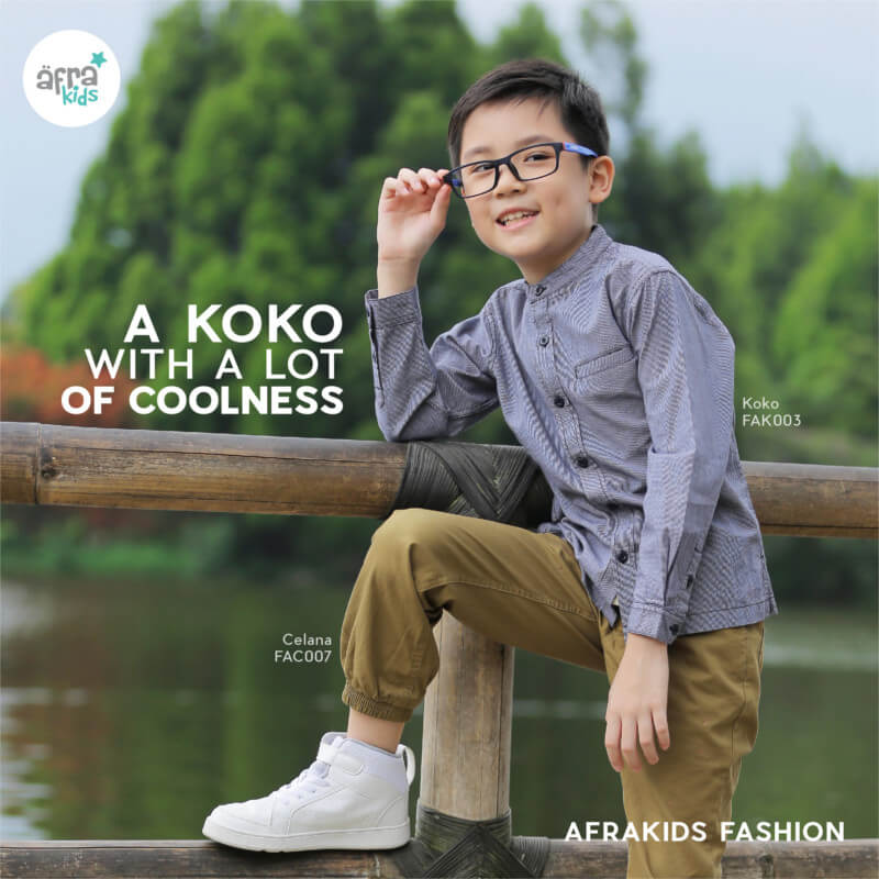 Baju Koko Anak Afrakids AFRA - FAK003