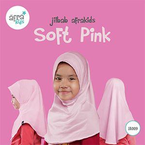 Afrakids AFRA - JA009 Jilbab Afrakids Soft Pink