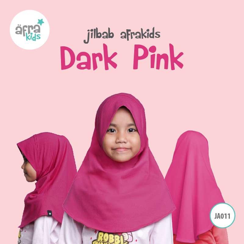 Afrakids AFRA - JA011 Jilbab Afrakids Dark Pink