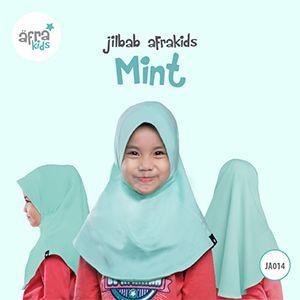 Afrakids AFRA - JA014 Jilbab Afrakids Mint