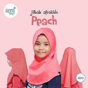 Afrakids AFRA - JA015 Jilbab Afrakids Peach
