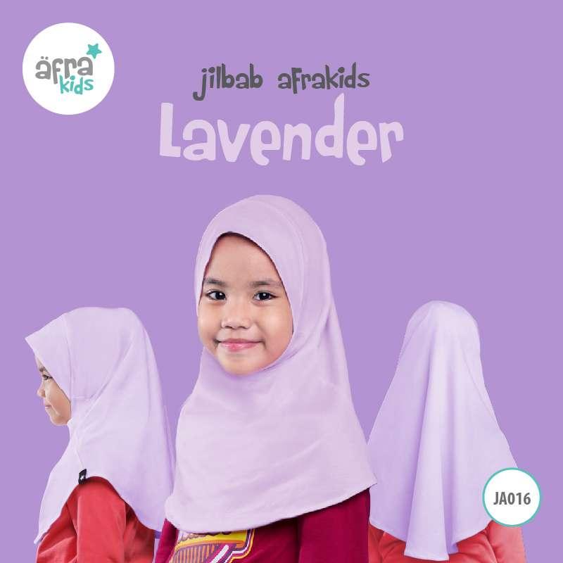Afrakids AFRA - JA016 Jilbab Afrakids Lavender