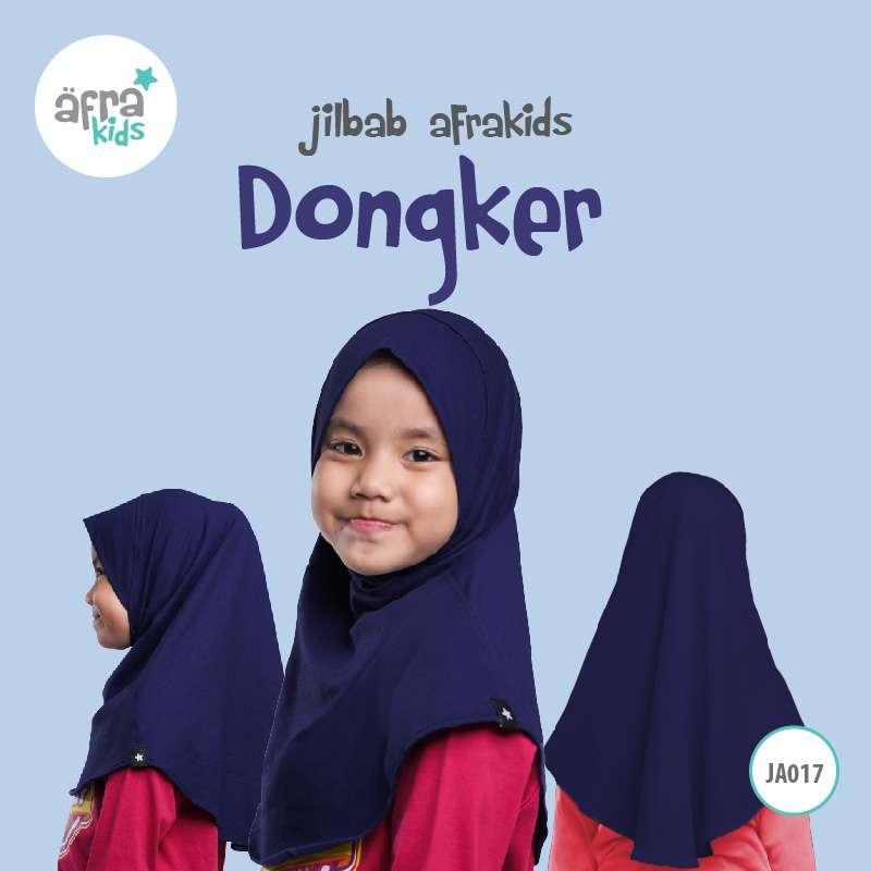 Afrakids AFRA - JA017 Jilbab Afrakids Dongker