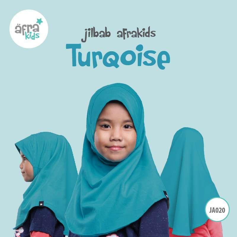 Afrakids AFRA - JA020 Jilbab Afrakids Turqoise