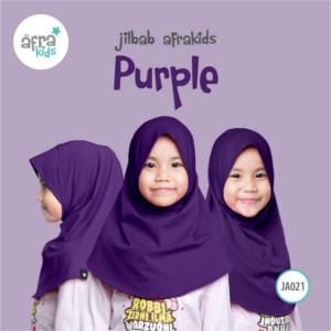 Afrakids AFRA - JA021 Jilbab Afrakids Purple