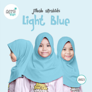 Afrakids AFRA - JA023 Jilbab Afrakids Light Blue