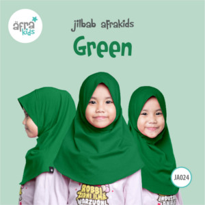 Afrakids AFRA - JA024 Jilbab Afrakids Green