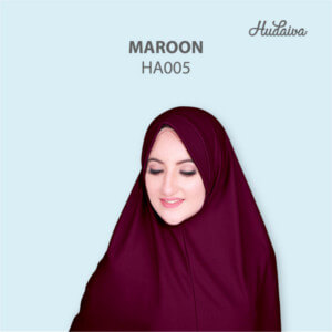Jilbab Hudaiva Andalus HDVA - HA005 Maroon
