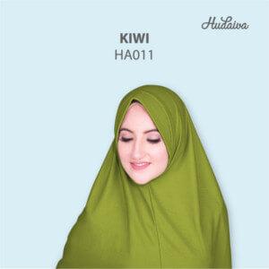 Jilbab Hudaiva Andalus HDVA - HA011 Kiwi