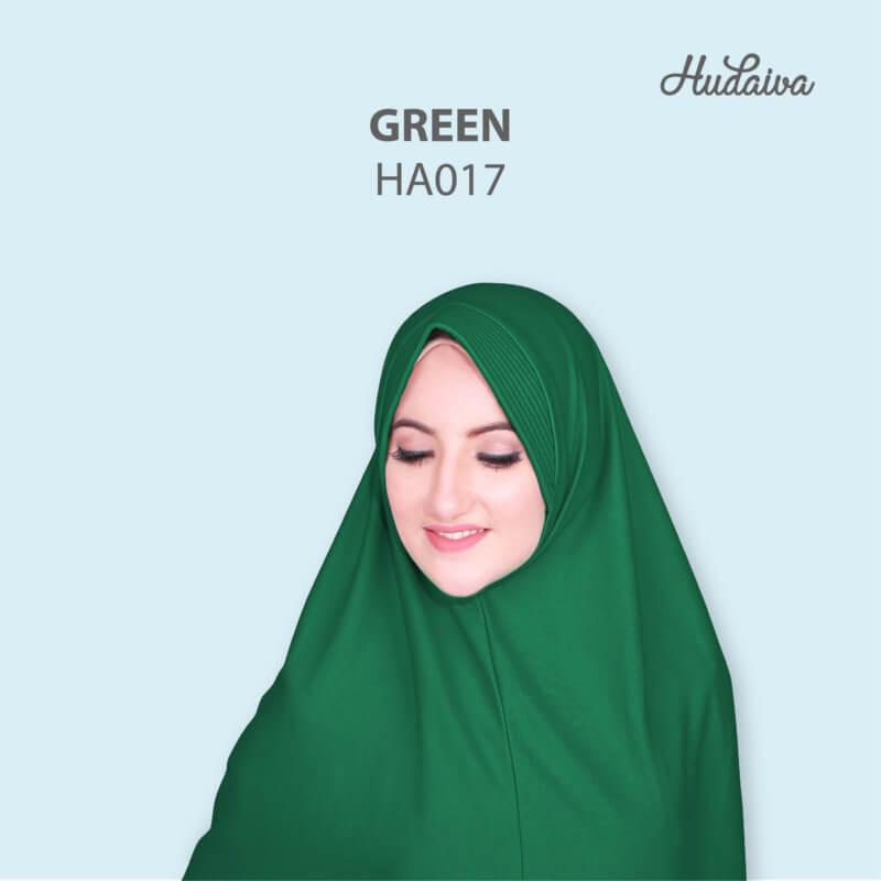 Jilbab Hudaiva Andalus HDVA - HA017 Green
