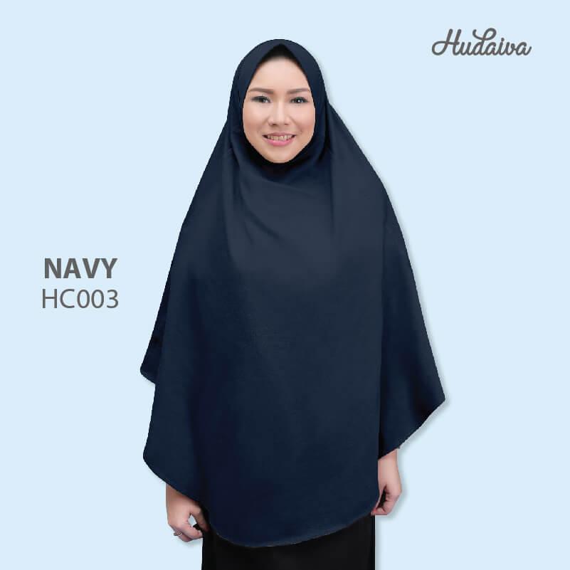 Jilbab Hudaiva Alana HDVA - HC003 Navy