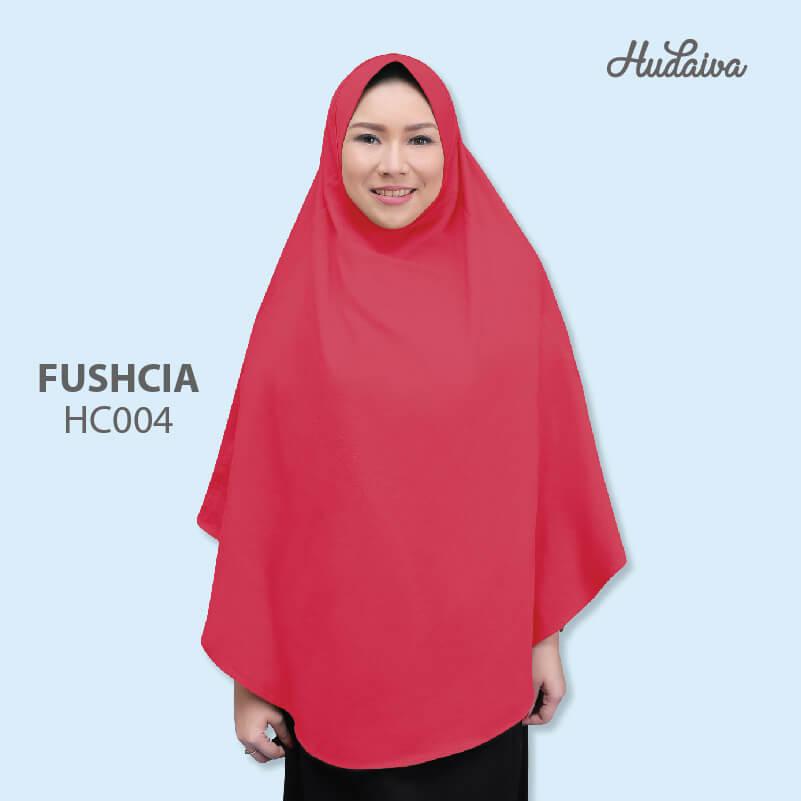 Jilbab Hudaiva Alana HDVA - HC004 Fushia