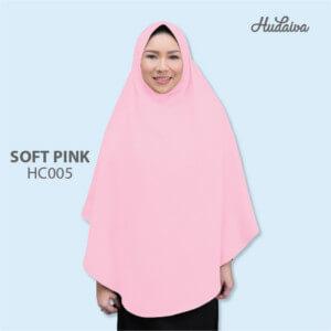 Jilbab Hudaiva Alana HDVA - HC005 Soft Pink