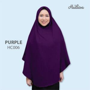 Jilbab Hudaiva Alana HDVA - HC006 Purple