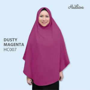 Jilbab Hudaiva Alana HDVA - HC007 Dusty Magenta