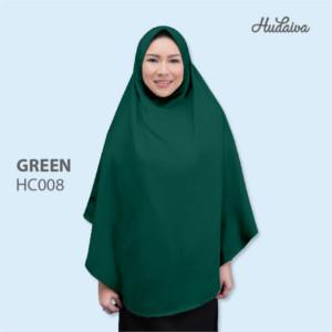 Jilbab Hudaiva Alana HDVA - HC008 Green