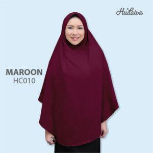 Jilbab Hudaiva Alana HDVA - HC010 Maroon