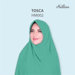 Jilbab Hudaiva Morocco HDVA - HM002 Tosca