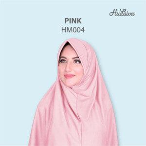 Jilbab Hudaiva Morocco HDVA - HM004 Pink