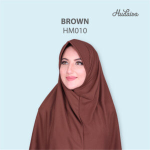 Jilbab Hudaiva Morocco HDVA - HM010 Brown