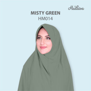 Jilbab Hudaiva Morocco HDVA - HM014 Misty Green