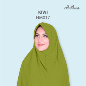 Jilbab Hudaiva Morocco HDVA - HM017 Kiwi