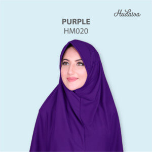 Jilbab Hudaiva Morocco HDVA - HM020 Purple