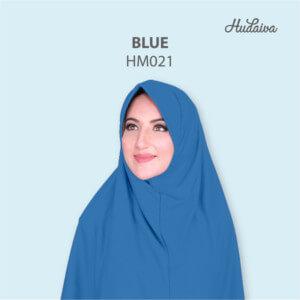 Jilbab Hudaiva Morocco HDVA - HM021 Blue