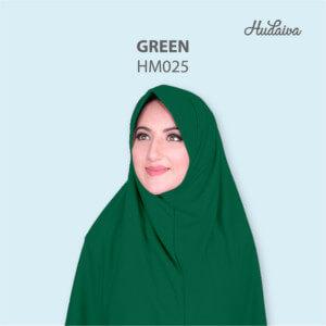 Jilbab Hudaiva Morocco HDVA - HM025 Green