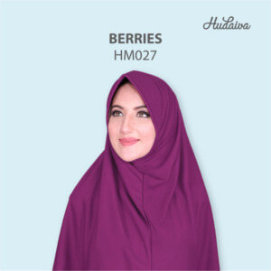 Jilbab Hudaiva Morocco HDVA - HM027 Berries