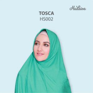 Jilbab Hudaiva Syria HDVA - HS002 Tosca