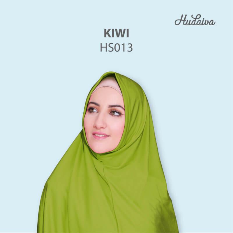 Jilbab Hudaiva Syria HDVA - HS013 Kiwi