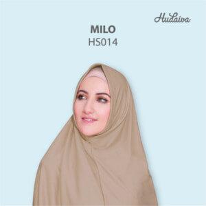 Jilbab Hudaiva Syria HDVA - HS014 Milo