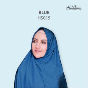 Jilbab Hudaiva Syria HDVA - HS015 Blue