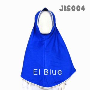 Shira SHRA - JIS004 Jilbab Bergo Anak Electric Blue