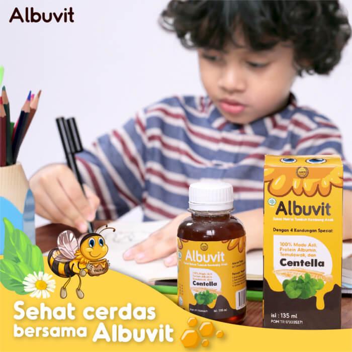 Albuvit Suplemen Madu Anak
