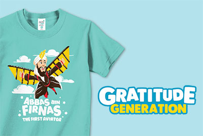 New Kaos Anak Muslim Afrakids Gratitude Generation
