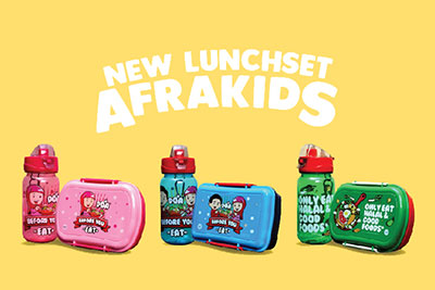 New Lunchset Afrakids
