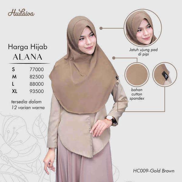 Price List Jilbab Alana