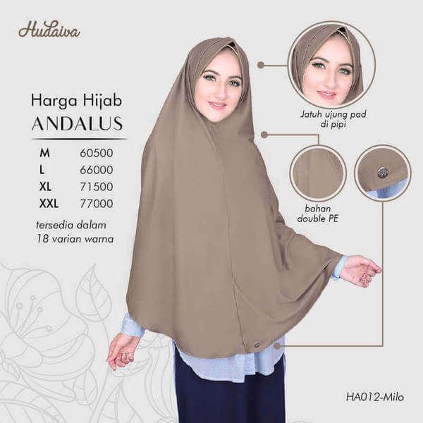 Price List Jilbab Andalus