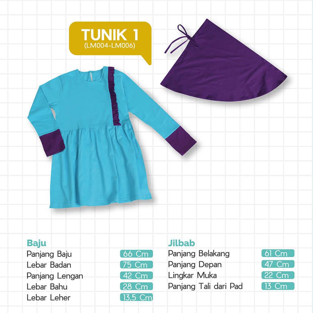 Size Chart Tunik 1