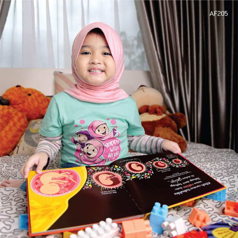 Afrakids AFRA - AF205 Happy With Hijab
