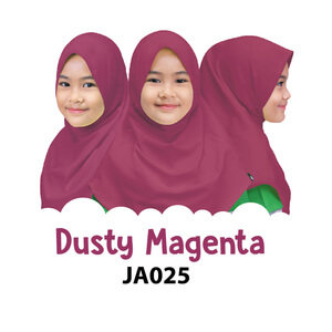 Afrakids AFRA - JA025 Jilbab Afrakids Dusty Magenta