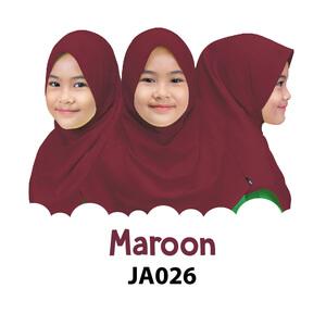 Afrakids AFRA - JA026 Jilbab Afrakids Maroon